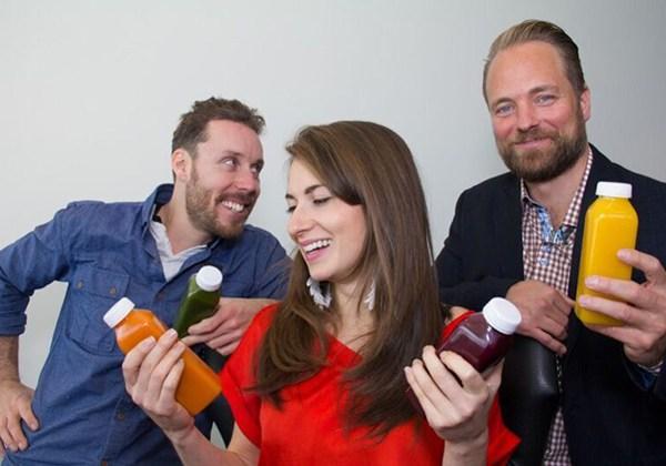 David Côté, Julie Poitras-Saulnier et Frédéric Monette, cofondateurs de Loop