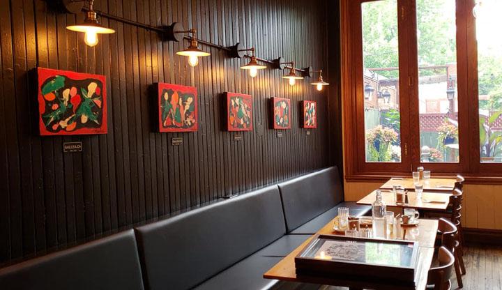 Exposition - Café les Entretiens - Nancy Lessard - 2
